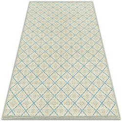 Tarasowy dywan zewnętrzny tarasowy dywan zewnętrzny geometryczne linie marki Dywanomat.pl