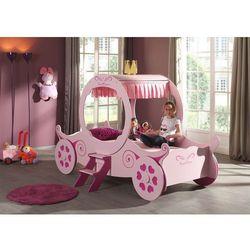 Łóżko dla dziewczynki kareta marki Vipack