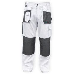 Dedra Spodnie robocze bh4sp-s biały (rozmiar s/48) (5902628211415)