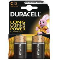 Duracell 2 x bateria alkaliczna  lr14 c (blister)