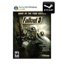 Fallout 3: Game of the Year Edition - Klucz - produkt z kategorii- Kody i karty pre-paid
