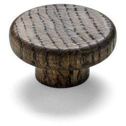 - wieszak knobs - 2 szt - drewniany - ciemne drewno marki Menu