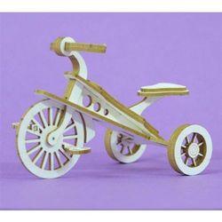 Crafty moly Ozdoba 3d - rowerek trzykołowy