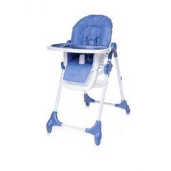4Baby Decco krzesełko do karmienia nowość blue