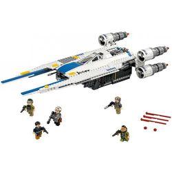 Lego Star Wars MYŚLIWIEC U-WING REBELIANTÓW Rebel.U-wing Fighter 75155, klocki dla dzieci