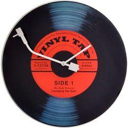 Nextime Zegar ścienny vinyl tap  43 cm