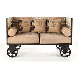 Sofa Charlie Chaplin MAZINE OLD HOUSE bogata chata