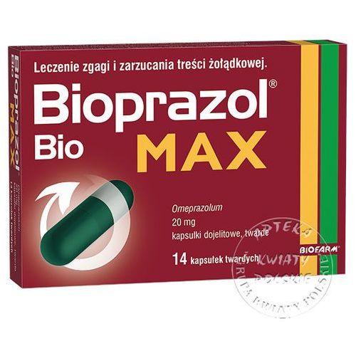 Bioprazol Bio MAX 20mg 14kaps (lek na wzdęcia)
