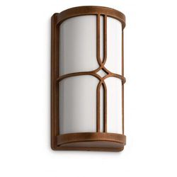 Philips nectar lampa kinkiet bronze 1x20w 230v e27 17249/06/16 (8718291443056)