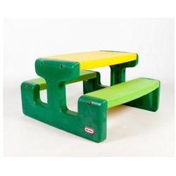 ława ze stolikiem funny xl green, marki Little tikes