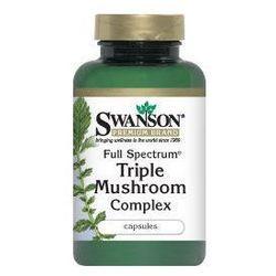 Full Spectrum kompleks trzech grzybków 60kaps (Pozostałe leki i suplementy)