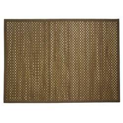 Chodnik dywanowy z bambusa, mata na balkon, dywan pleciony, dywan beżowy, dywany naturalne, modne dywany, chodnik bambusowy (3560239248392)