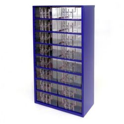 Metalowe szafki z szufladami, 16 szuflad (8595004167528)