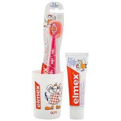 ELMEX Zestaw dla dzieci pasta + kubek + szczoteczka dla dzieci od 0-6 lat