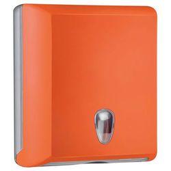 Pojemnik na ręczniki papierowe składane M Marplast plastik pomarańczowy (5902023967146)