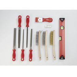 Zestaw narzędzi SHAPE, pilniki i szczotki, 20-częściowy, luzem (bez wkładki), na