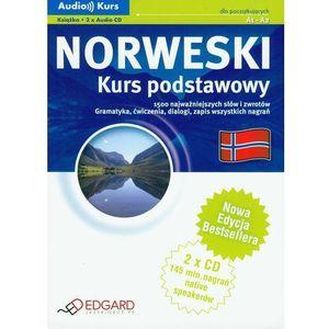 Norweski. Kurs Podstawowy A1 - A2. Audio Kurs (Książka + 2 Cd), edgard