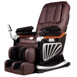 Insportline Fotel do masażu masseria - kolor ciemny brązowy