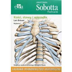 Anatomia Sobotta Flashcards Kości stawy i więzadła, książka z ISBN: 9788365625007