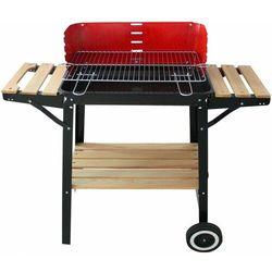 grill węglowy wood marki Happy green