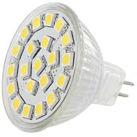 LED REFLEKTOR WHITENERGY MR16,21SMD 5050,GU5.3, 4W,12V,CIEPLA BIALA 4875