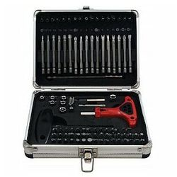 zestaw kluczy i końcówek z akcesoriami - 95 elementów marki Toolland