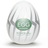 Tenga Egg Thunder - Jajka do masturbacji Grzmot (6 szt.)