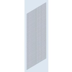 Osłona ścianki bocznej, krata spawana, wys. 2500 mm, głęb. 800 mm. Stosowane jak