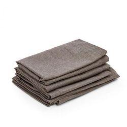 Blumfeldt Titania Dinning Set pokrycia pokrowce na tapicerkę brązowe (4060656151484)