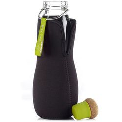 Butelka na wodę z filtrem Eau good szklana limonkowa, egg002