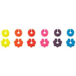 Silikonowe znaczniki do kieliszków (lu-00210220) marki Lurch