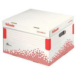 Pudło archiwizacyjne otwierane od góry speedbox białe (433x263x364) marki Esselte