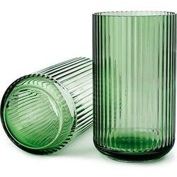 Wazon Lyngby szklany Copenhagen Green 25 cm