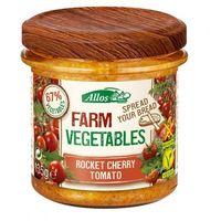 Pasta warzywna z pomidorami Cherry i Rukolą BIO 135 g - ALLOS (4016249129156)