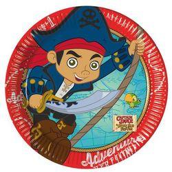 Talerzyki urodzinowe Jake i piraci - 20 cm - 8 szt. (5201184862360)