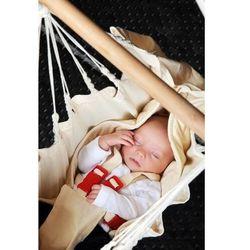 - yayita - hamak dla niemowląt - ecru marki Lasiesta