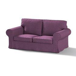 Dekoria Pokrowiec na sofę Ektorp 2-osobową, nierozkładaną, śliwkowy, Sofa Ektorp 2-osobowa, Madrid
