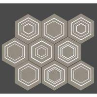 Mozaika Solei Grey 28,9x22,1 Tubądzin