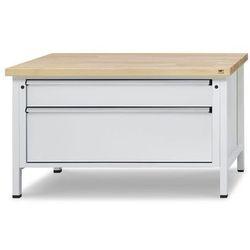 Stół warsztatowy z szufladami XL/XXL,szer. 1500 mm, 2 szuflady