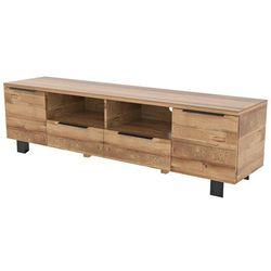 Stolik pod telewizor london, 42x180 cm, drewno dębu, 91858-1 marki Interstil