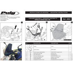 Owiewka PUIG do Aprilia Mana 850 (pozostałe kolory) z kategorii owiewki motocyklowe