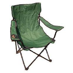 Kampingowe krzesło składane z miejscem na napoje