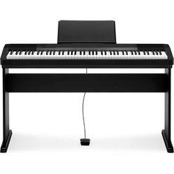 CASIO CDP-130 BK - Pianino cyfrowe + Statyw cs-44 + Instrukcja PL (fortepian, pianino)