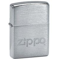Zapalniczka Moje ZIPPO Logo, Brushed Chrome (Z21081) - sprawdź w wybranym sklepie