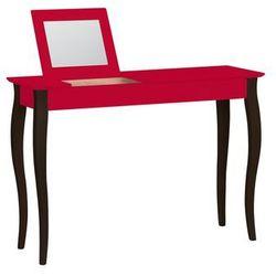 Ragaba Toaletka lillo z lusterkiem - duża/czerwona z czarnymi nogami