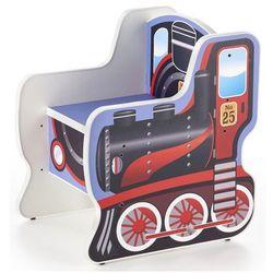 Fotelik dziecięcy lokomotywa Milo 2X
