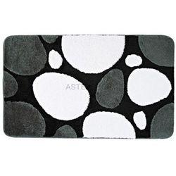 Ridder Pepple dywanik łazienkowy 60x90 cm, akryl, czarny 720310