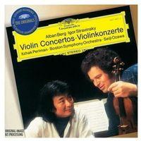 Berg, Stravinsky: Violin Concertos (CD) - Boston Symphony Orchestra, Itzhak Perlman