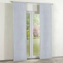 zasłony panelowe 2 szt., białe zygzaki na szarym tle, 60 x 260 cm, brooklyn marki Dekoria