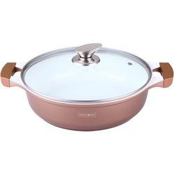 30cm garnek niski z powłoką ceramiczną / rl-br30c copper / 04-042 marki Royalty line